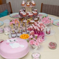 Szonja's 5th birthday - High Tea Party