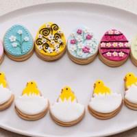 Easter Eggs Linzer Biscuits/Cookies