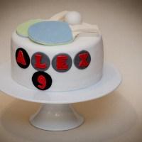 Ping-Pong Birthday Cake
