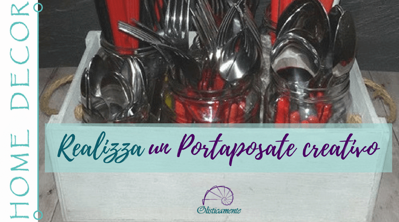 Portaposate creativo