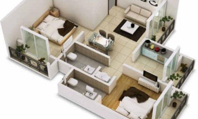 15 Denah Rumah Minimalis 1 Lantai Paling Keren