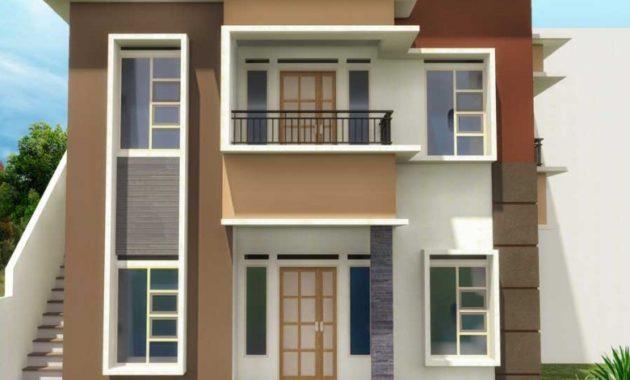 15 Denah Rumah Minimalis 2 Lantai Terbaru 2018