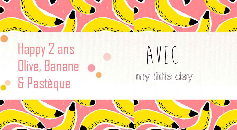 2 ans de blog avec... My Little Day [Concours terminé]