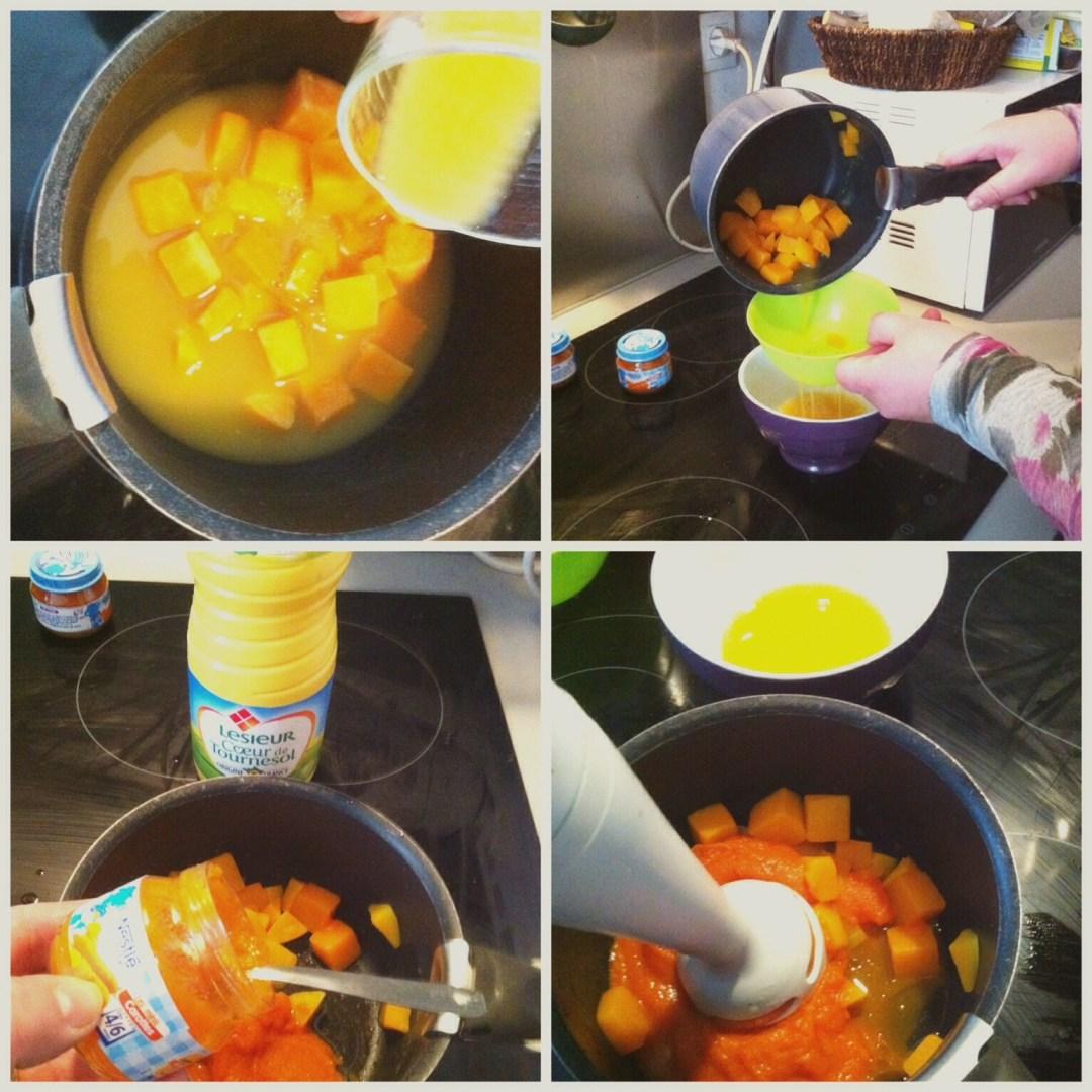 Recette #1 Carottes &amp&#x3B; Potiron à l'orange