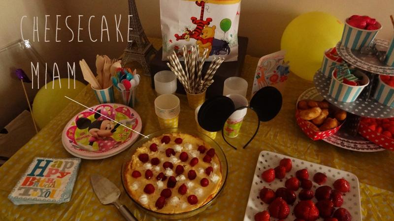 La fête d'anniversaire des 2 ans ☆