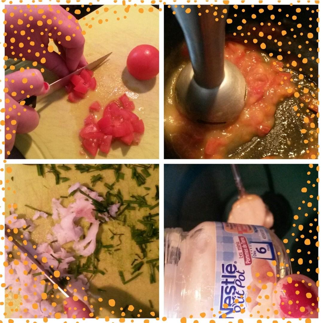 Recette #6 Parmentier de cabillaud &amp&#x3B; douceur de tomates