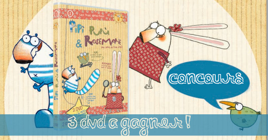 Pipì, Pupù & Rosemarie [Concours terminé]
