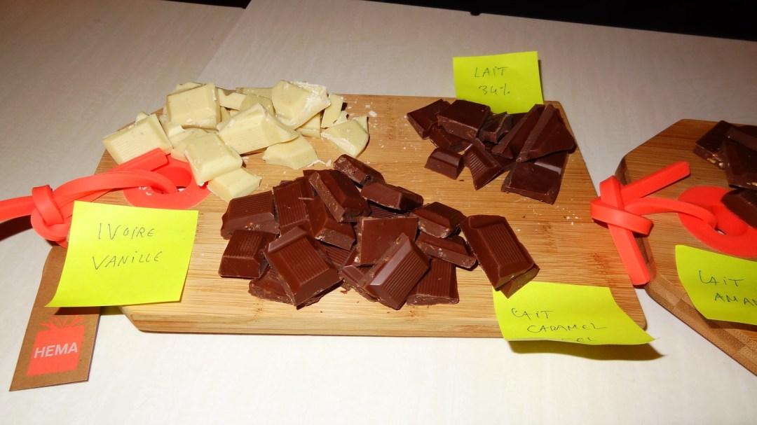 Mon atelier de dégustation Le Chocolat des Français