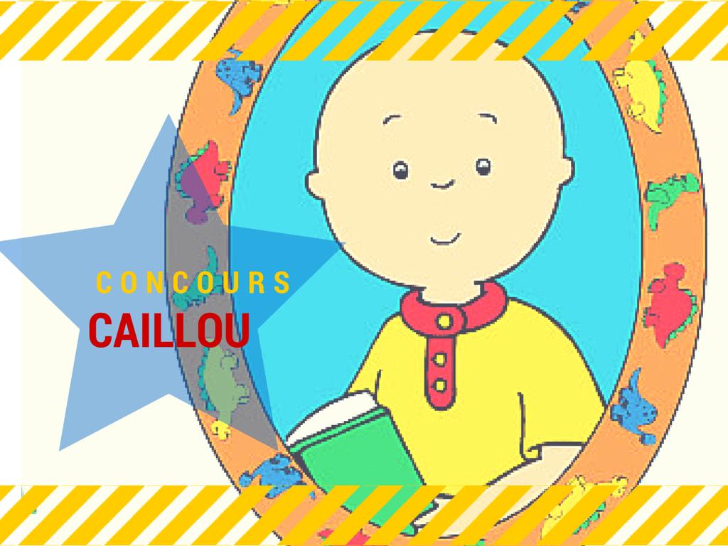 Vous connaissez Caillou ? [Concours terminé]