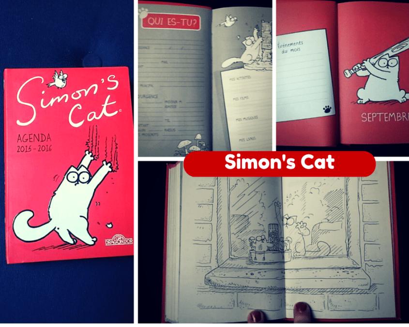 Gagnez des agendas Simon's Cat et Où est Charlie ? #TeamPipelettes (concours terminé)