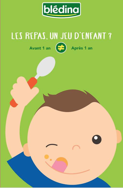 Les repas de bébé : un jeu d'enfant ? #foodart