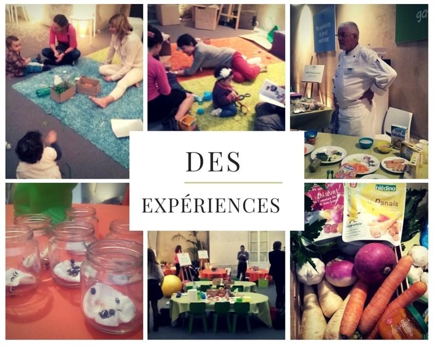 Mes 2 jours d'expérience extraordinaires #bledina