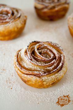 Recette: tartelettes aux pétales de pommes et confiture de Fraises-Framboises Bonne Maman®