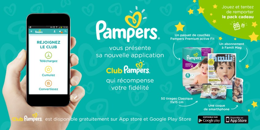 Chic, un Club Pampers !  #appli (concours fini)