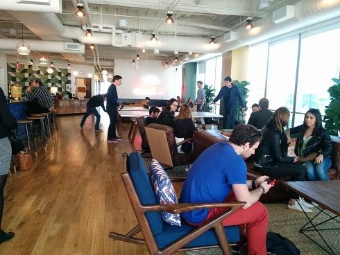 Incubateur WeWork à San Francisco