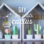Les petits cactus imprimables