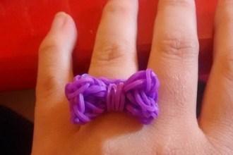 Les bracelets élastiques avec deux fourchettes #DIY