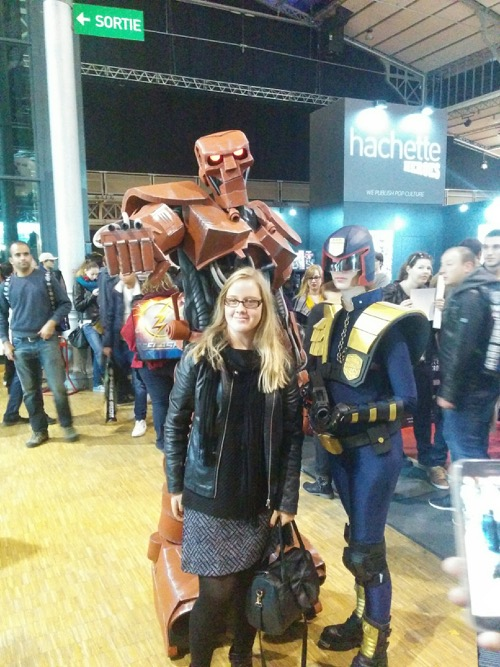 ABC warrior robot judge dredd comic con paris 2016