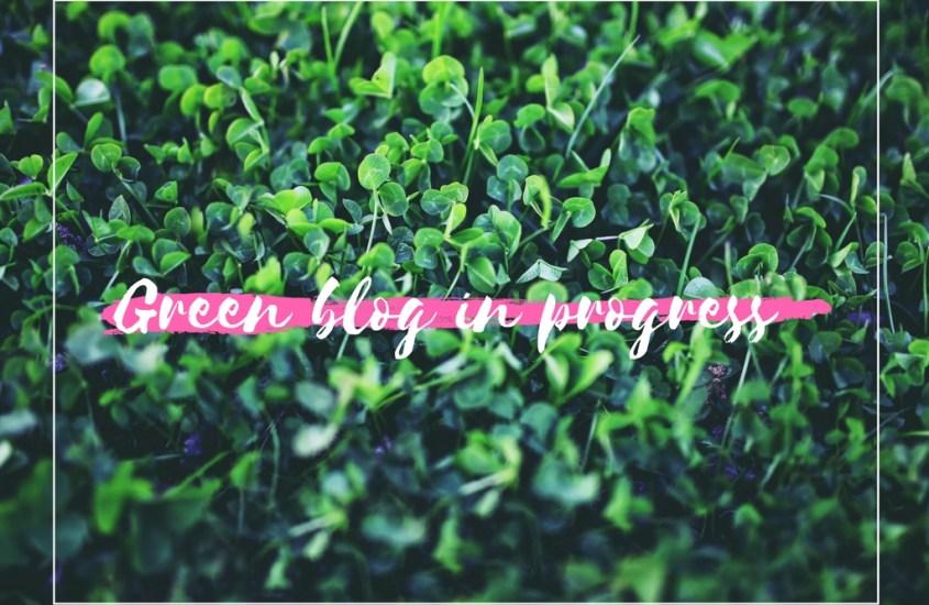 Le défi Green de Maman Youpie #blog