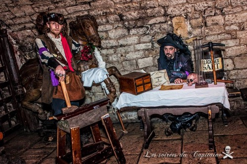 le renard soirée du capitaine pirate paris