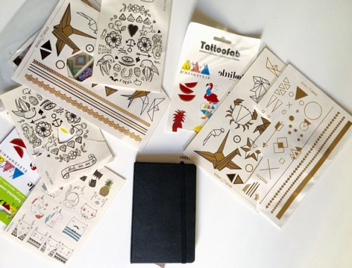 avant la customisation du moleskine