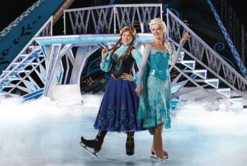 Disney On Ice La Reine des Neiges #Disneysurglace