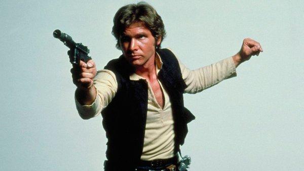 Han Solo blaster