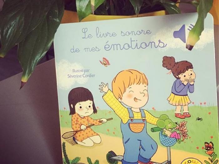 Book review Kids : le livre sonore de mes émotions