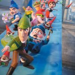 Sherlock gnomes gnomes et juliette sur le london bridge