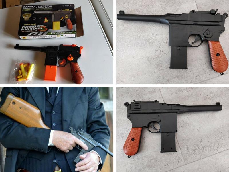 Tutoriel de customisation du Nerf Mauser