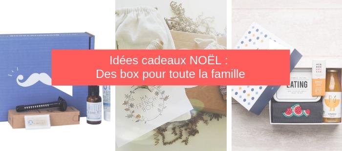 Noël : des boxs pour toute la famille !