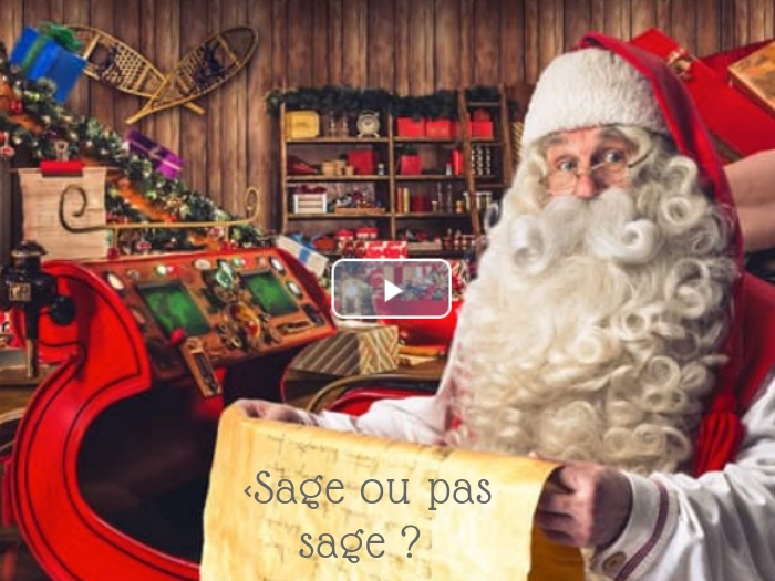 Tu as un message…. du Père Noël !