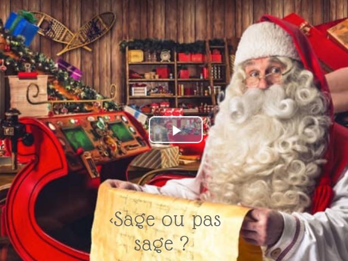 Tu as un message…. du Père Noël !