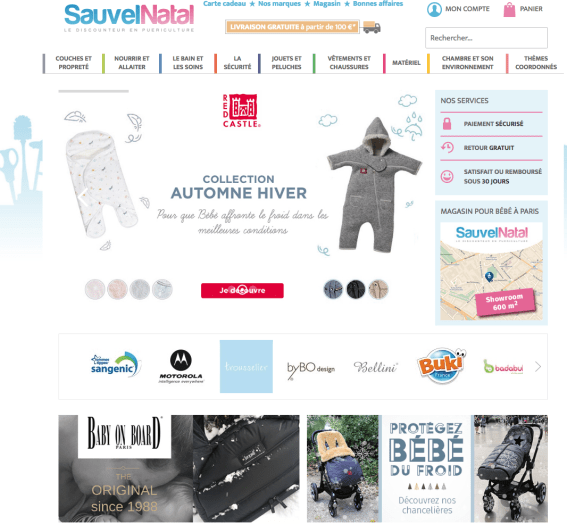 Sauvel natal le site web