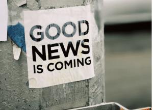 Les bonnes nouvelles arrivent !