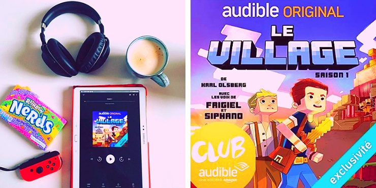 Le village, un livre audible