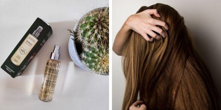 Cheveux : le spray antichute Luxéol