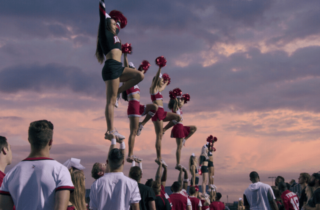 Cheer, le docu sur les cheerleaders a voir sur netflix