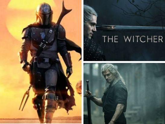 The Witcher et The Mandalorian #SeriesTV