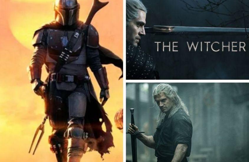 The Witcher et The Mandalorian #SeriesTV