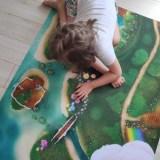 le super tpais de jeu Carpeto Lagon féérique