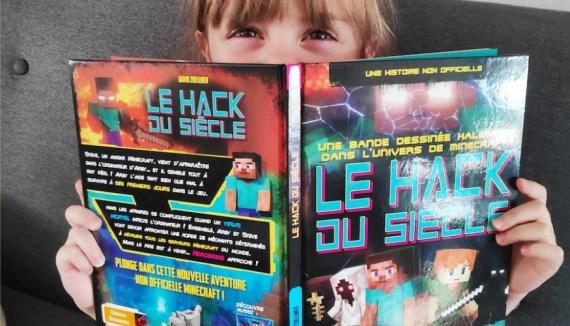 Crevette a adoré la BD Le hack du siècle