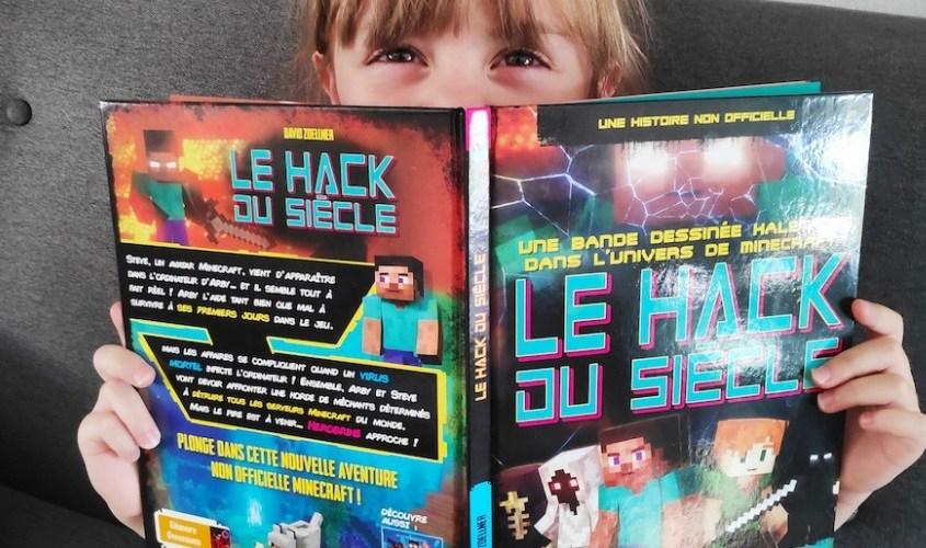 le hack du siècle : le livre idéal pour fan de Minecraft !