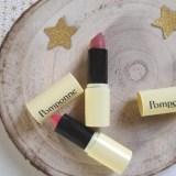 j'ai testé les rouges à lèvres naturels et hydratants Pomponne
