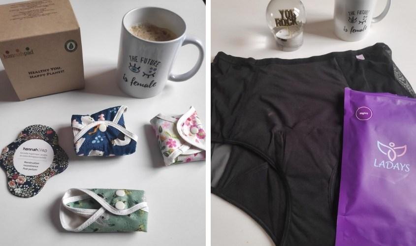 Serviettes + culottes de règles lavables : le combo gagnant