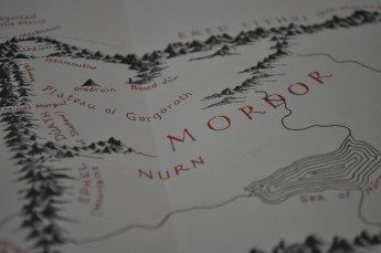 Lord of the Rings, LOTR, Mordor, maps, books