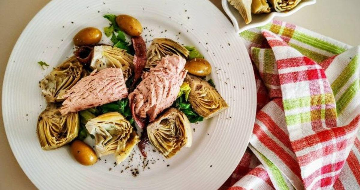 insalata-di-carciofi-tonno-e-olive