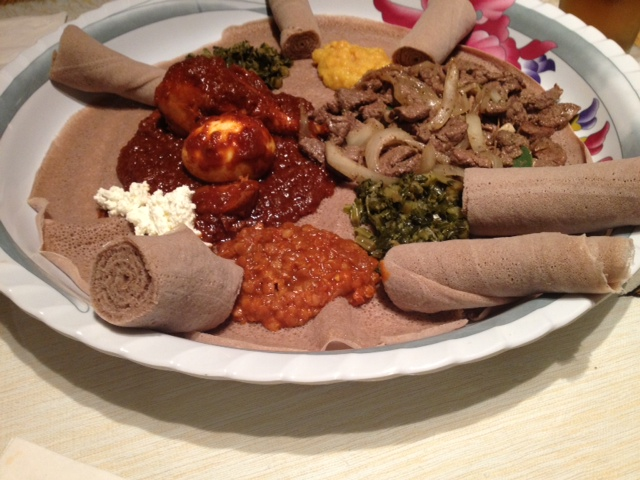Another First: Ethiopian – Olive Does The City