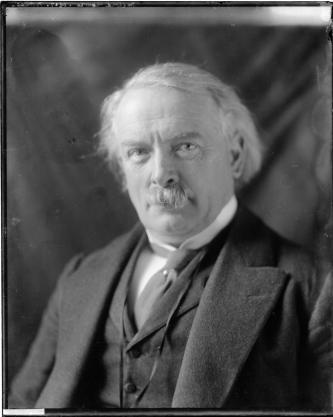 David Lloyd George, Prime Minister of the Wartime Coalition Government (1916-22)