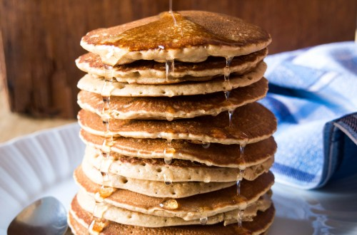 Pancakes Vegan Sans Gluten